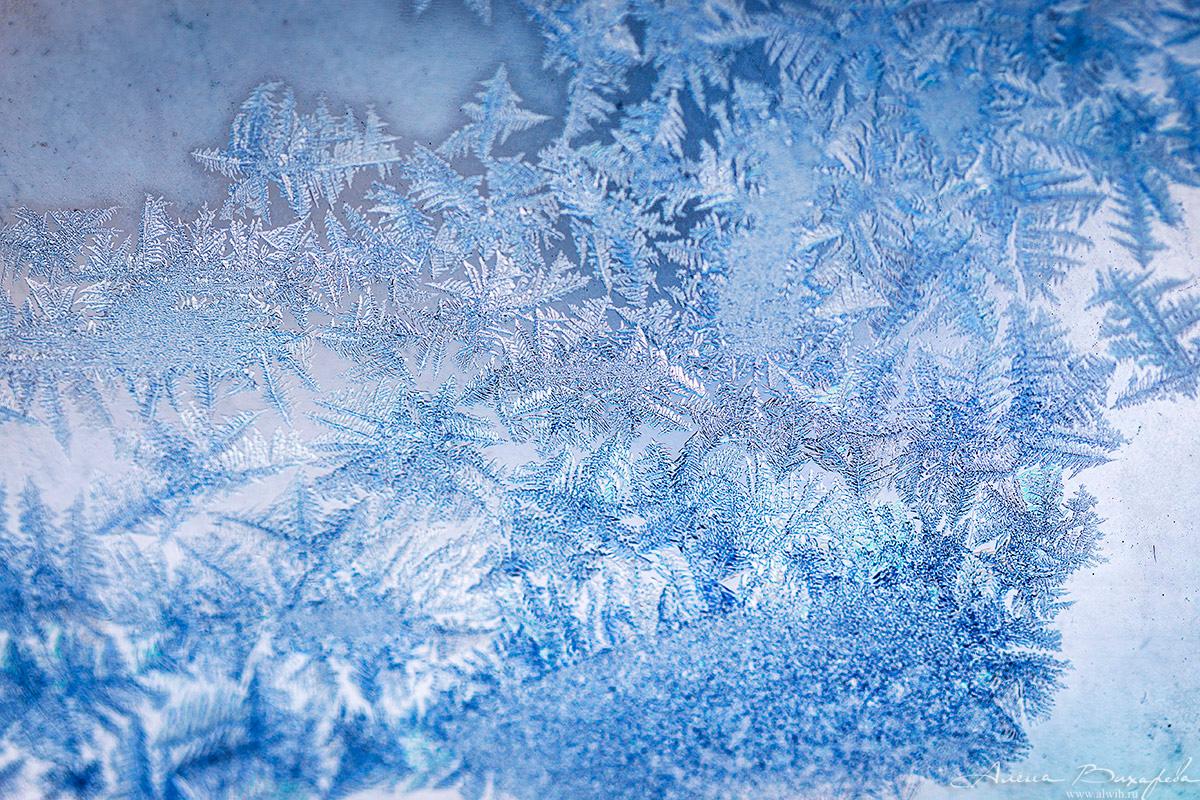 Картинка морозные рисунки на окне
